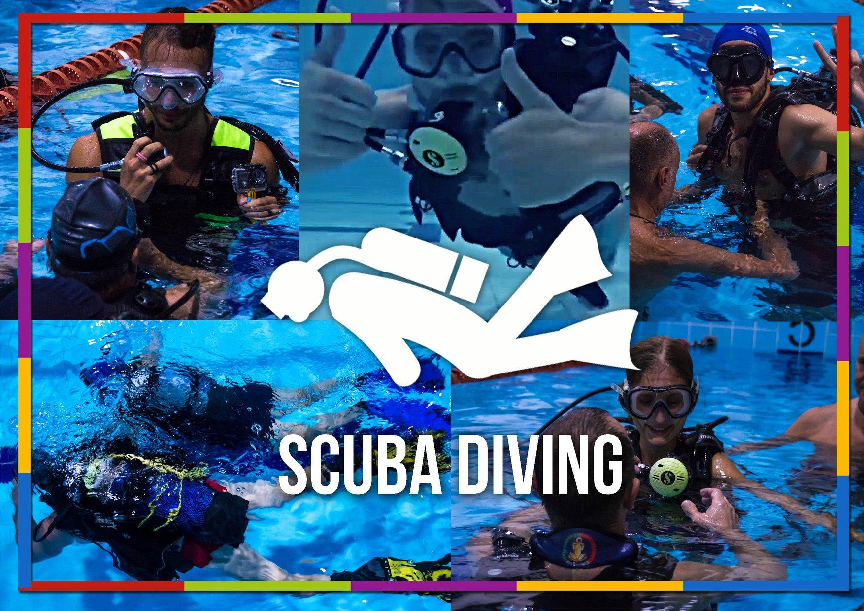 attività sub piscina
